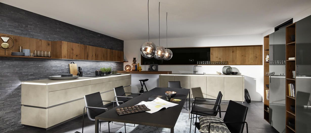 Moderne Küchen stilvoll, innovativ nolte-kuechende Küche - moderne kuche