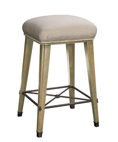 hickory chair windsor bar stool in parchment suzanne kasler rh pinterest at
