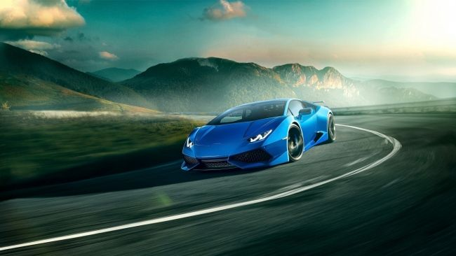Download 1920x1080 Hd Wallpaper Lamborghini Huracan Speed Mountain