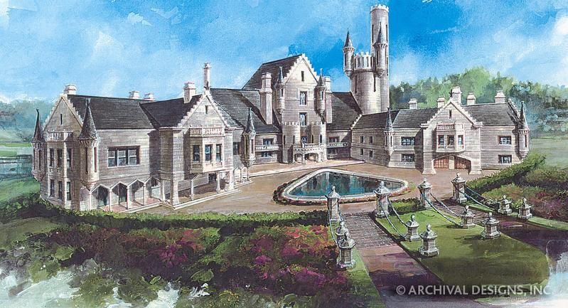 Balmoral House Plan Castle House Plans Balmoral House Castle Plans