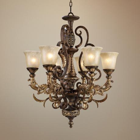 Trump Home Regency Collection 6 Light Chandelier Furfari