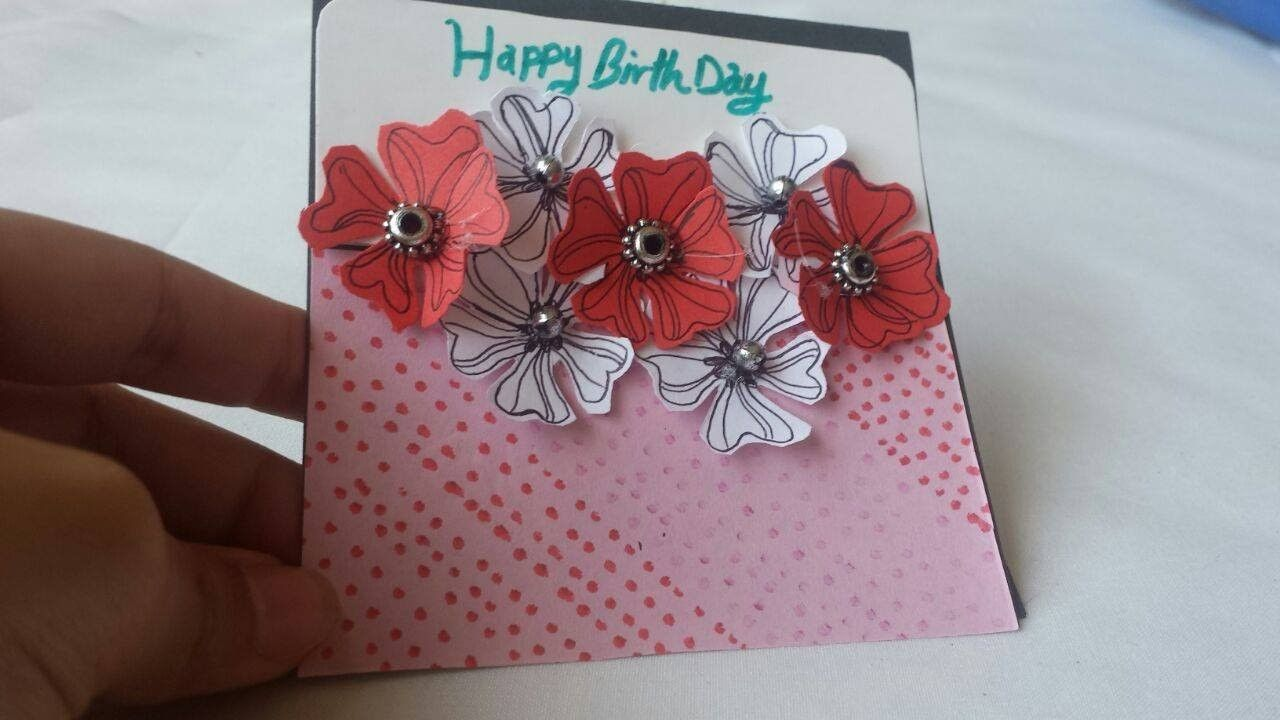 Diy greeting cards how to make birthday greeting card tutorial diy greeting cards how to make birthday greeting card tutorial m4hsunfo