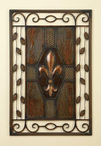 Castle Door Iron Wall Plaque