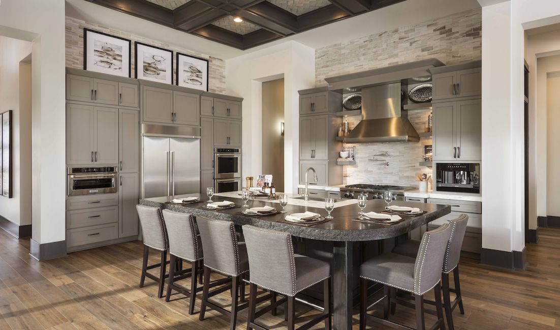 Become your own personal chef with your custom-made kitchen at Monterey in Verde River in Rio Verde, AZ. Customization options are available to fit your personal needs.