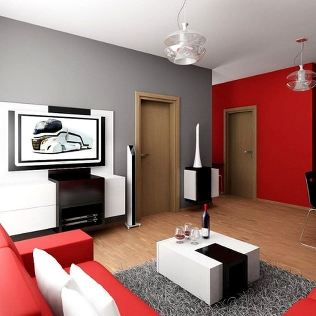Gray And Red Living Room Interior Design Gray And Red Living Room Ideas  Httpintrinsiclifedesign