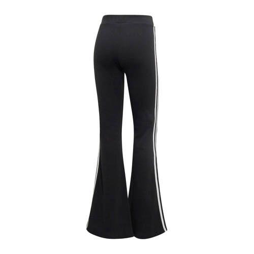 Flared broek zwart - Adidas originals, Adidas en Broeken