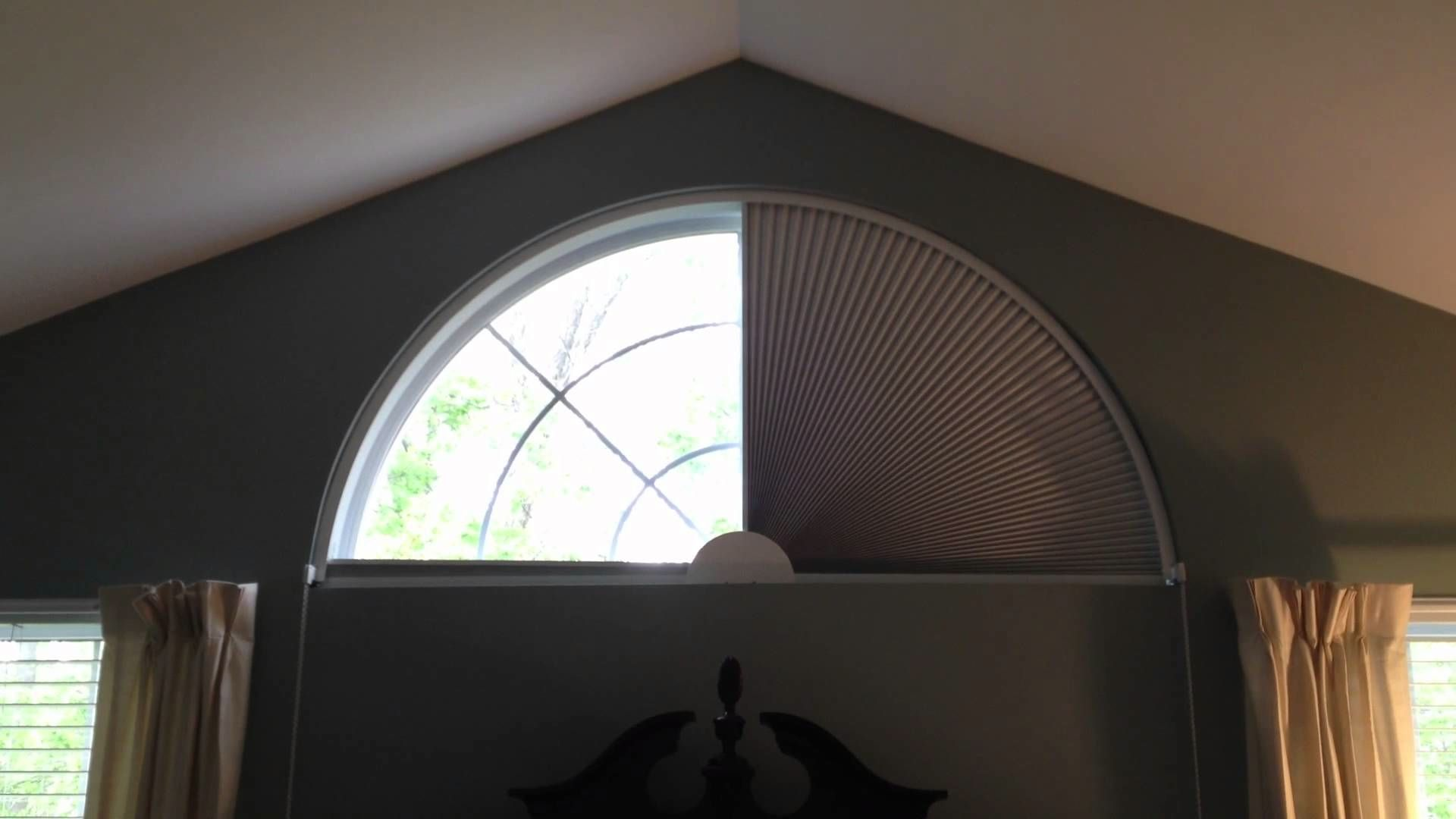 Windows Blinds For Half Circle Windows Decorating Custom Roman In Measurements 1024 X 768 Blackout Blind For Round Window Decor Moderne Chambre Parents Moderne