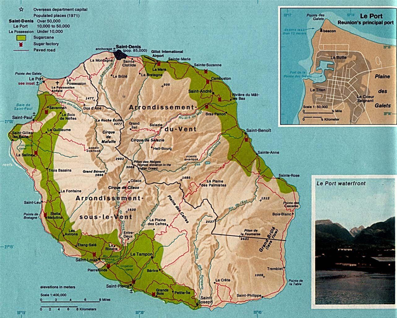 Reunion Island Google Search Paysage Reunion La Reunion