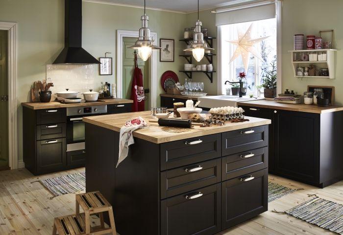 Keuken Ikea Landelijk : Ikea landelijke keuken u2026 kitchen ideas køkkeu2026