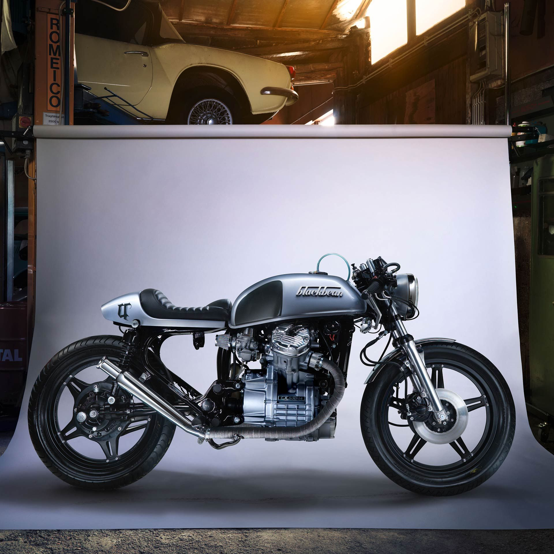 honda cx500 blackbean handbuilt cafe racer joy
