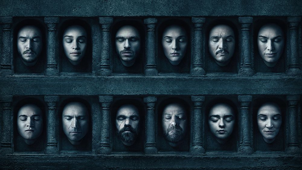 See Season 6 Key Art and Character Posters — Making Game of Thrones | Game  of throne actors, Got characters, Game of thrones poster