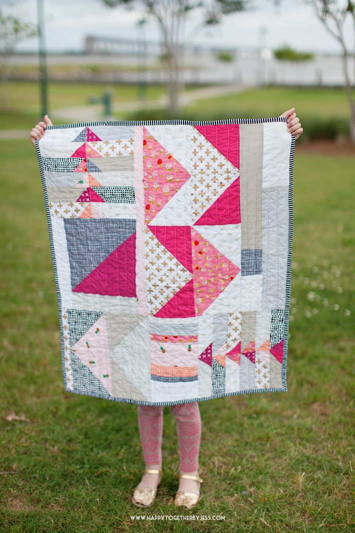 An Impromptu Quilt Small Quilt Projects Small Quilts And Blanket