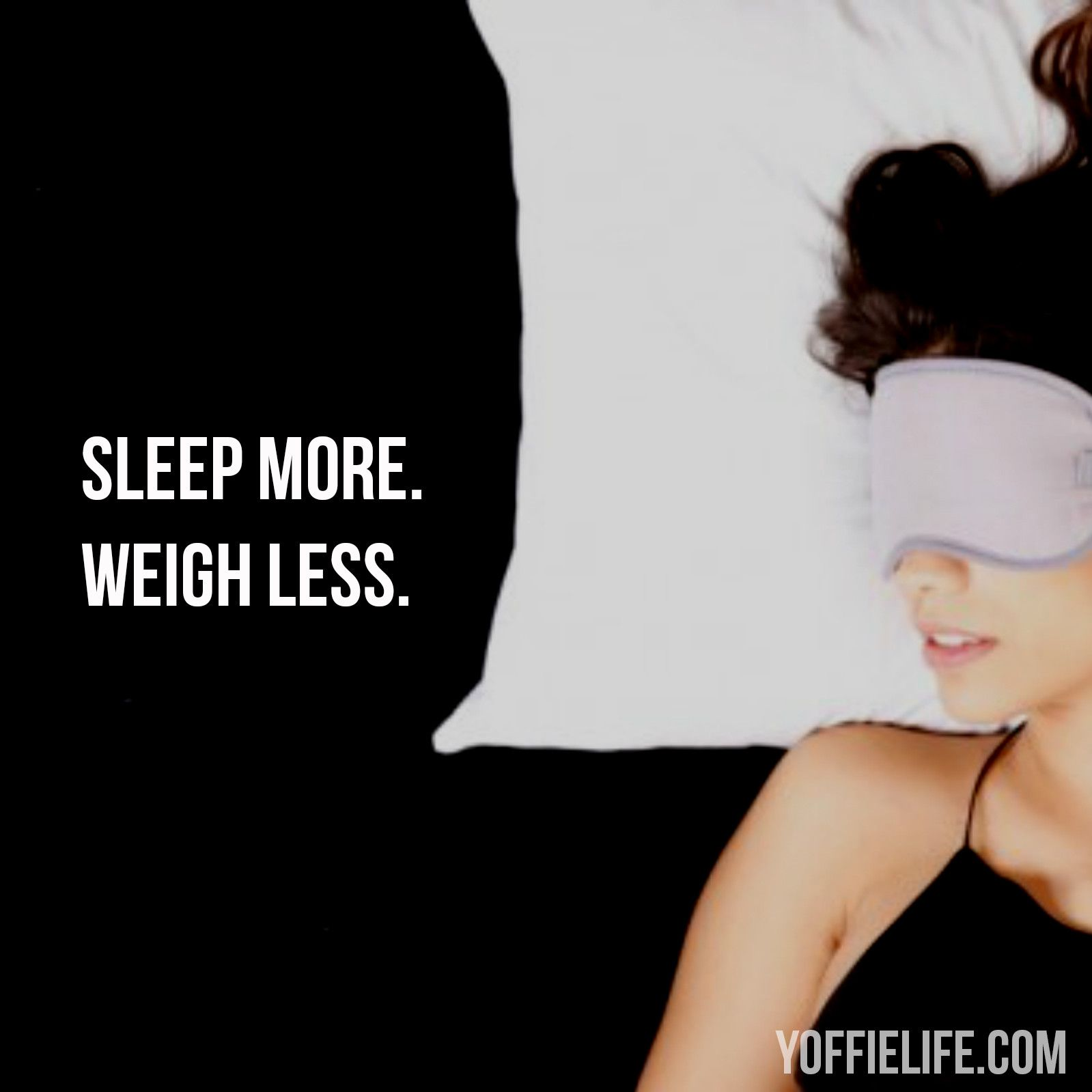 Studies reveal lack of sleep makes you prone to eating high-calorie foods. Getting better and more sleep may be all you need to reach your health goals → http://bit.ly/1Pcxghi #sleep #sleepy #sleepyhead #weight #weightloss #goals #health #healthy #healthgoals #Satisfy #YoffieLife #wellness #holisticwellness #tip #nourish #instagood #naptime #rest #relax #relaxation #recharge #energize #bed #bedtime