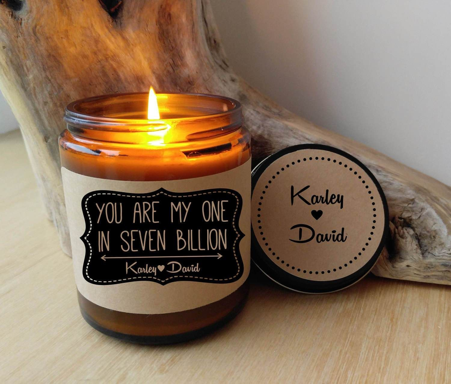 Gift for boyfriend gift for girlfriend you are my one in 7