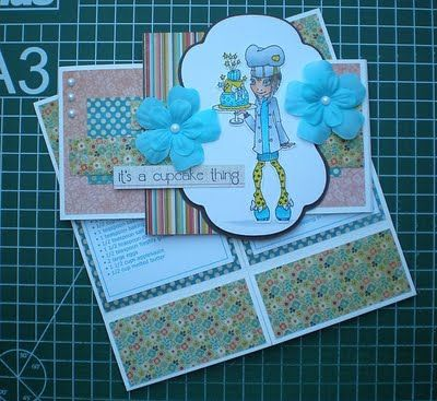 Simply Sassy: Simply Never-Ending recipe card with sleeve