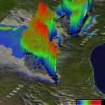 Satélite TRMM de la NASA ve tornados Tormentas de Texas en 3-D