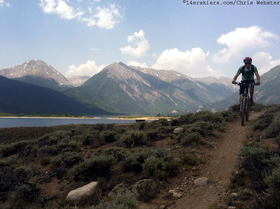 CO Trail Segment 11: Mt Massive to Clear Creek - 14erskiers.com