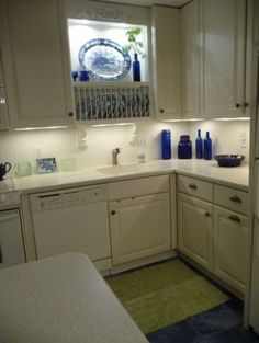 Painting My Condo Pear Green Eclectic Kitchen No Window Over Kitchen Sink