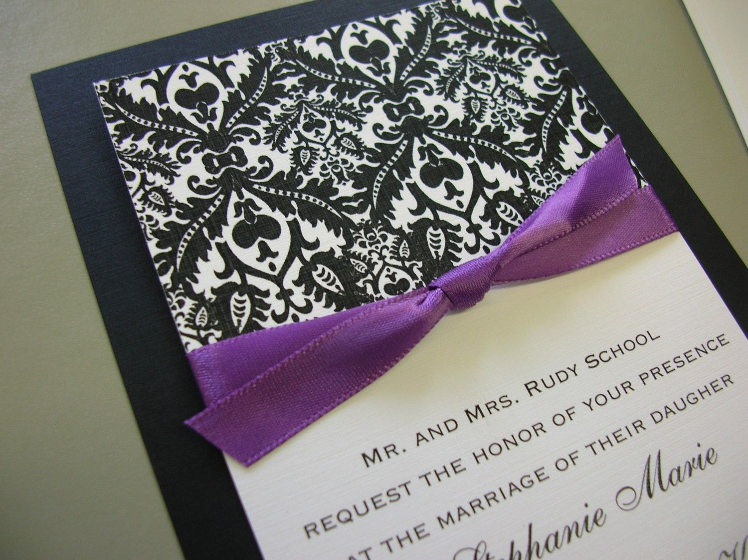 Purple Damask · wedding (don\'t click on link on page) | свадьба ...