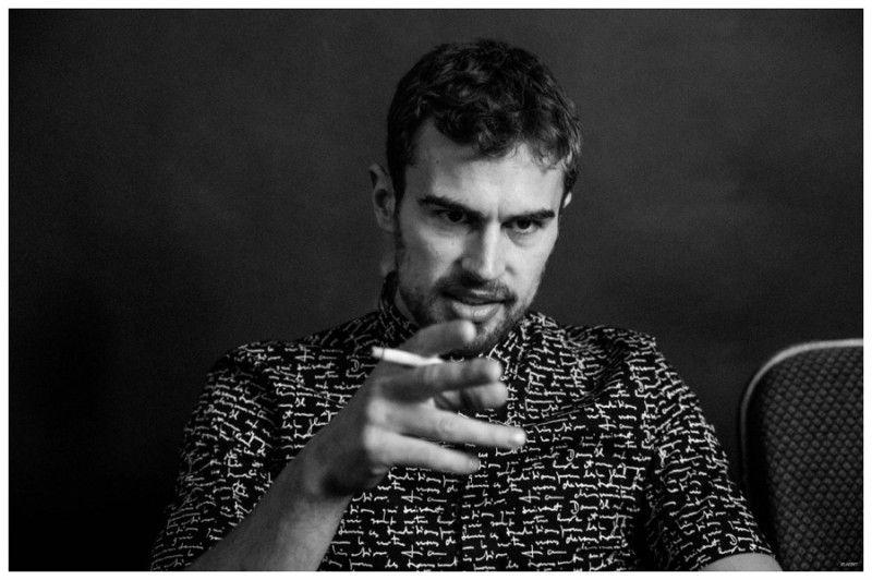Insurgent Star Theo James Covers Flaunt, Talks Social Media/Twitter