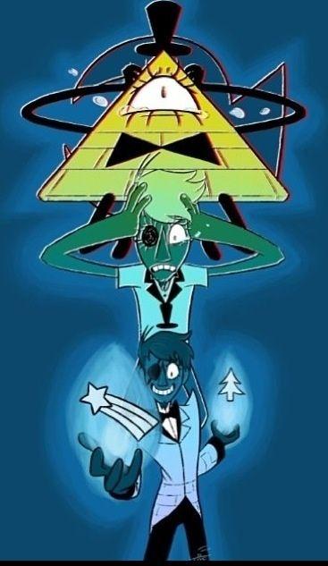 Bill Cipher as a Human