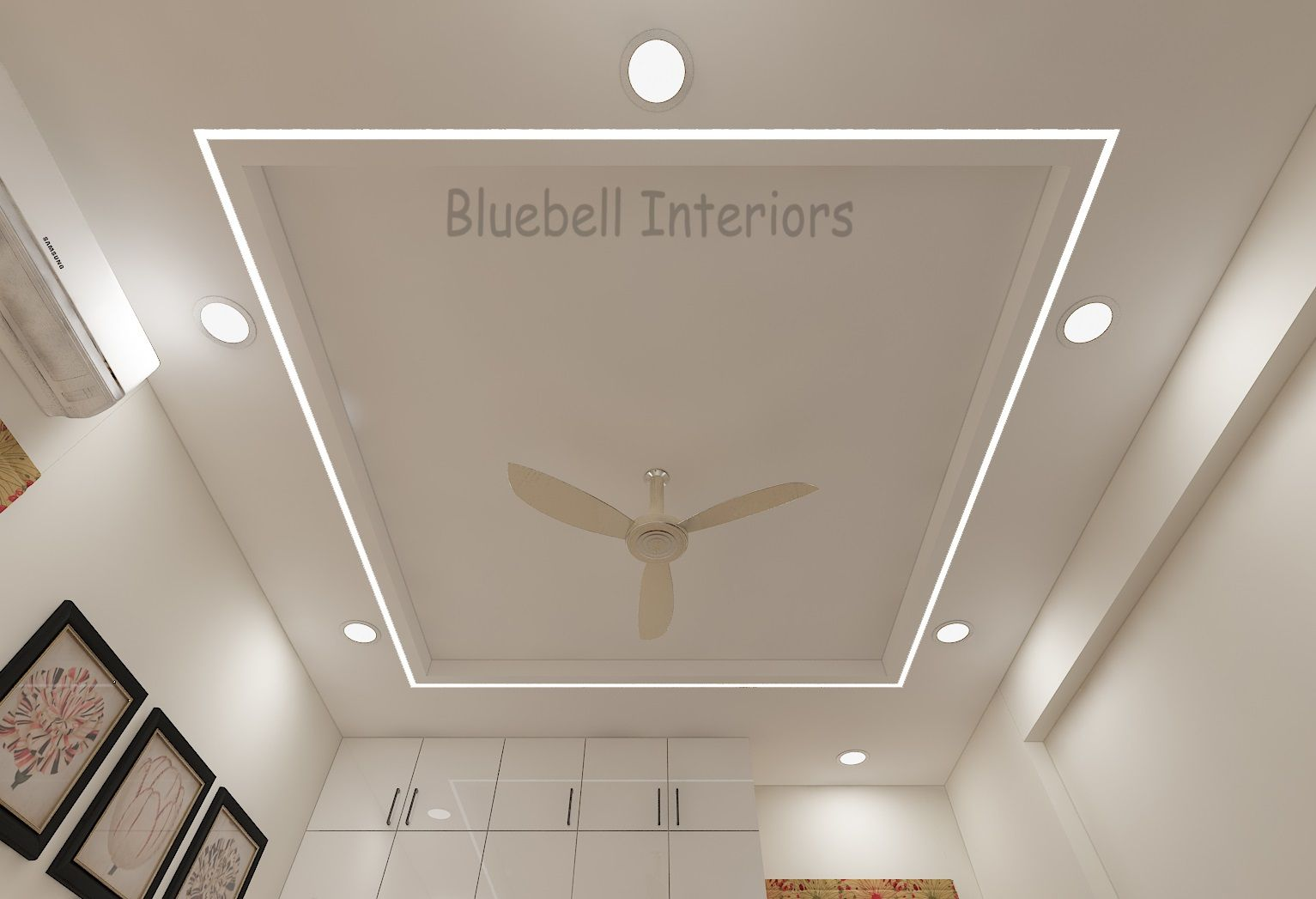 Bedroom False Ceiling Profile Light In Ceiling Simple F
