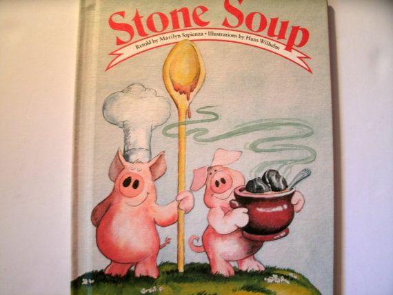Stone Soup Marilyn Sapienza Hans Wilhelm 1986 LoveVintageAlways