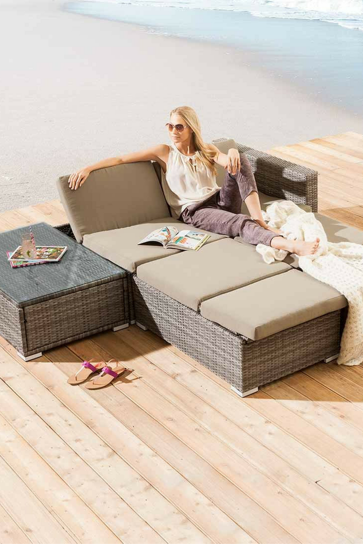 outliv montreal sofagruppe geflecht loungem bel garten. Black Bedroom Furniture Sets. Home Design Ideas