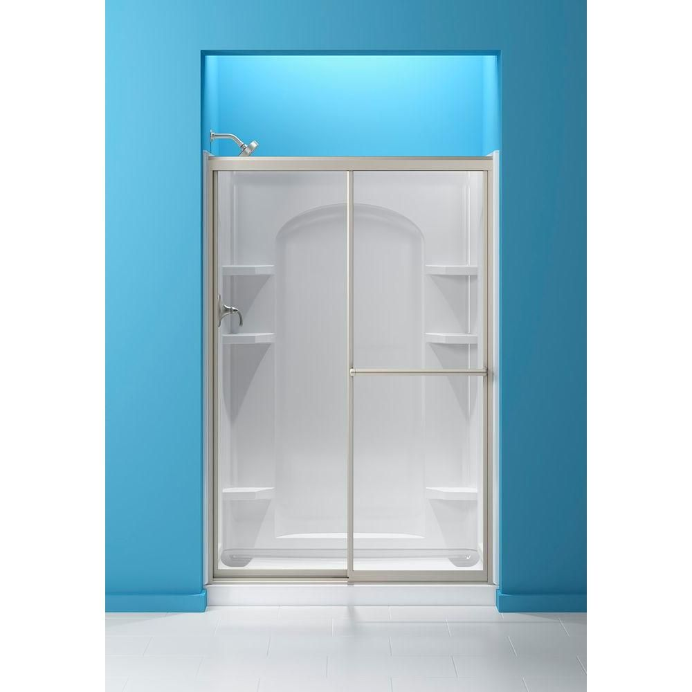 Sterling 48 7 8 In X 70 1 4 In Sliding Shower Door With