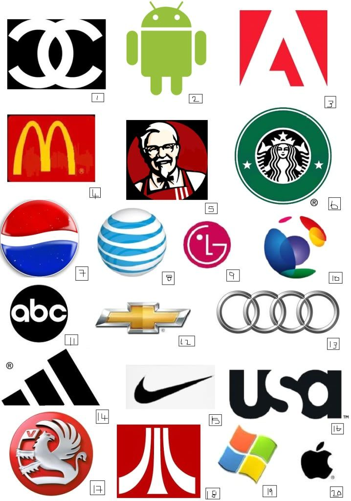 This is a graphic of Obsessed Printable Logo Quizzes