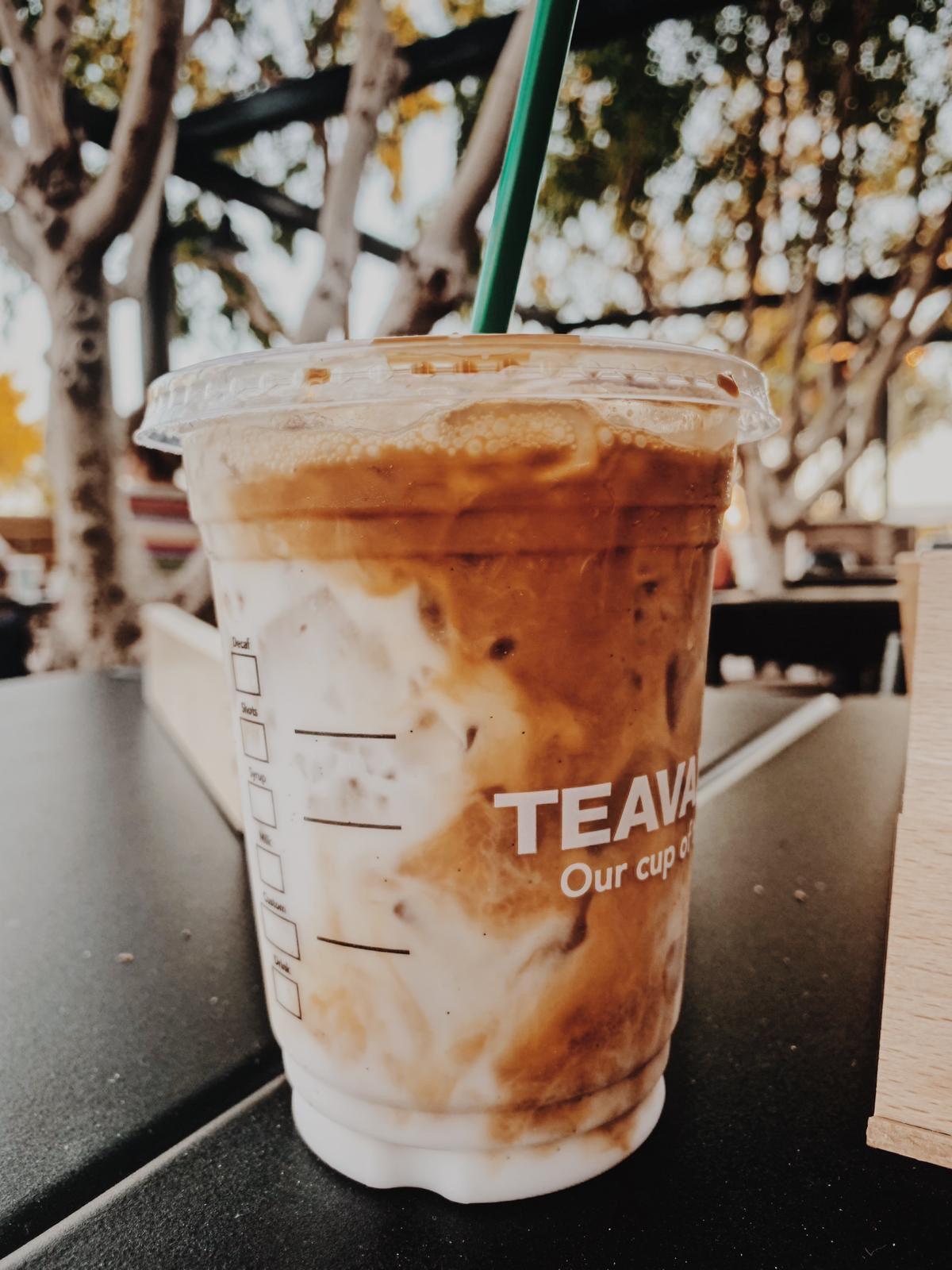 My favorite starbucks iced latte! It's so pleasing when