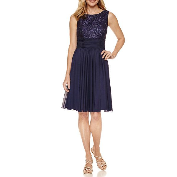 3eb25acb51d4 Jessica Howard Sleeveless Fit & Flare Dress - JCPenney | Wedding ...