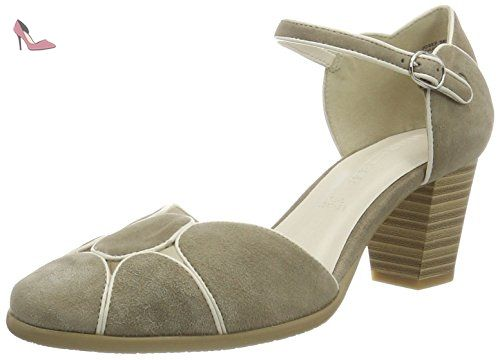 GERRY WEBER Villa 07 - Mary Jane - femme - Beige sable - 38.5 (UK 5.5) - Chaussures gerry weber (*Partner-Link)