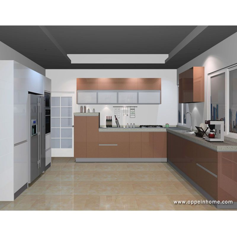 Kitchen Cabinet Was Exported To Ghana Model: OP13-CH-072