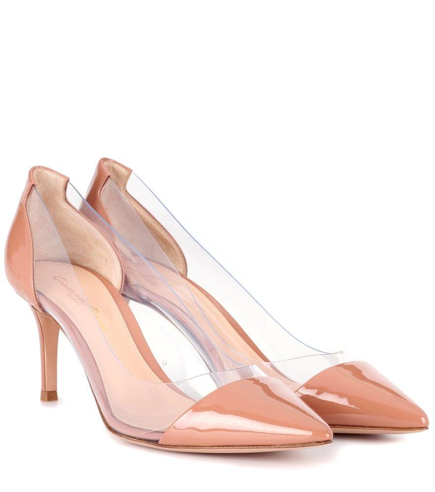 5a2da376cbac Gianvito Rossi - Plexi 70 patent leather pumps - Make an alluring  impression in these Plexi