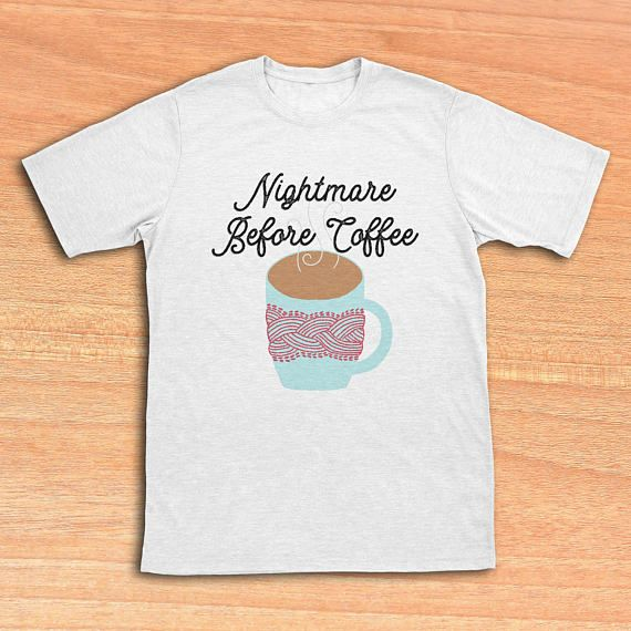 photo relating to Printable Iron Ons referred to as Nightmare Ahead of Espresso Halloween Blouse Iron-Ons Printable