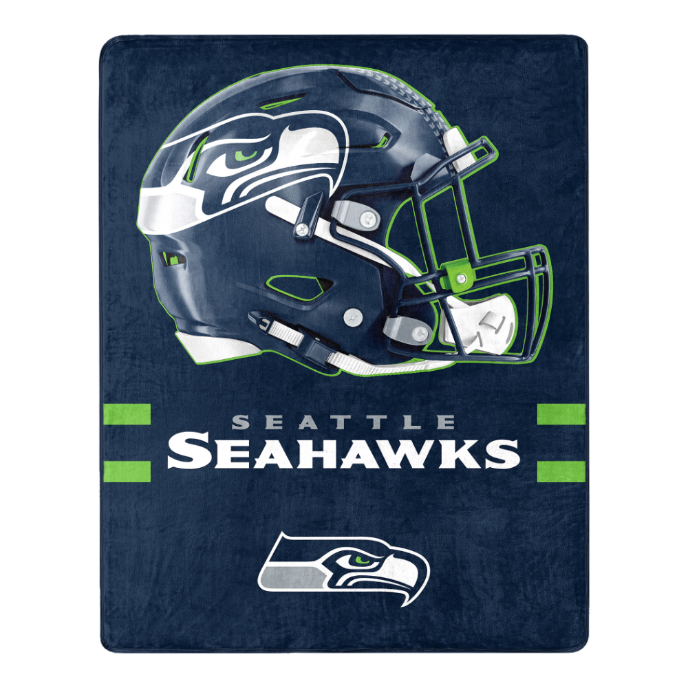 2020 Seattle Christmas Gift Seattle Seahawks Fleece Blankets   Christmas Gifts for Everyone in