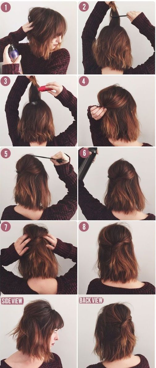 8 Cute Short Hairstyles For Everyday Wear Mashoid Co Short Hair Styles Hair Styles Hair Lengths