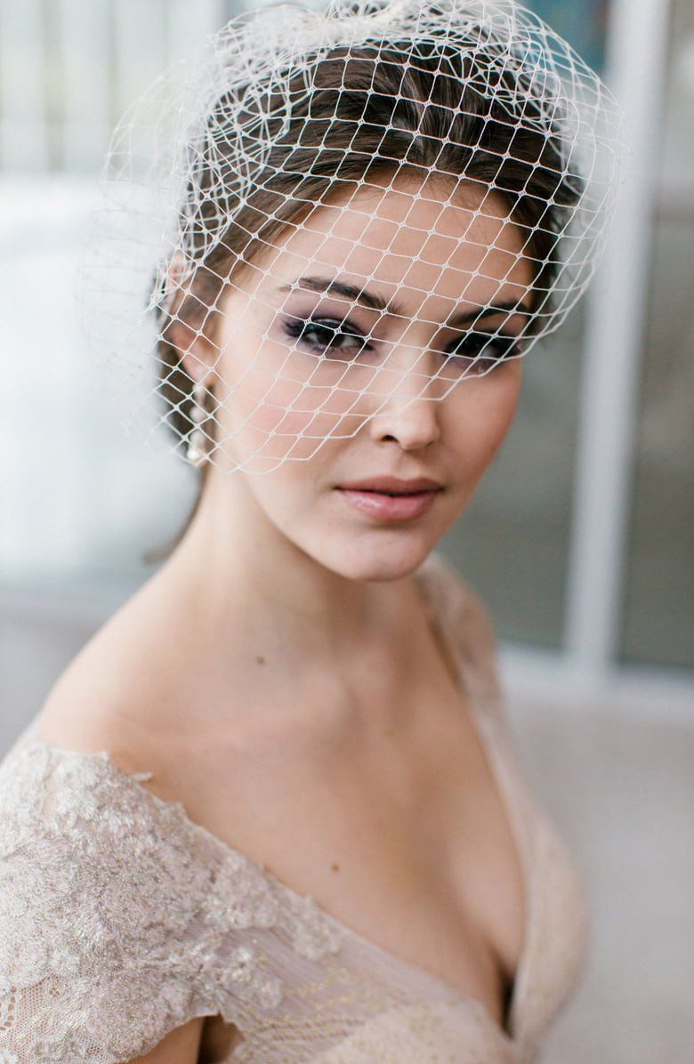 9 Bridal Accessories You Ll Need On Your Wedding Day With Images Toni Federici Anna Campbell Wedding Dress Birdcage Veil