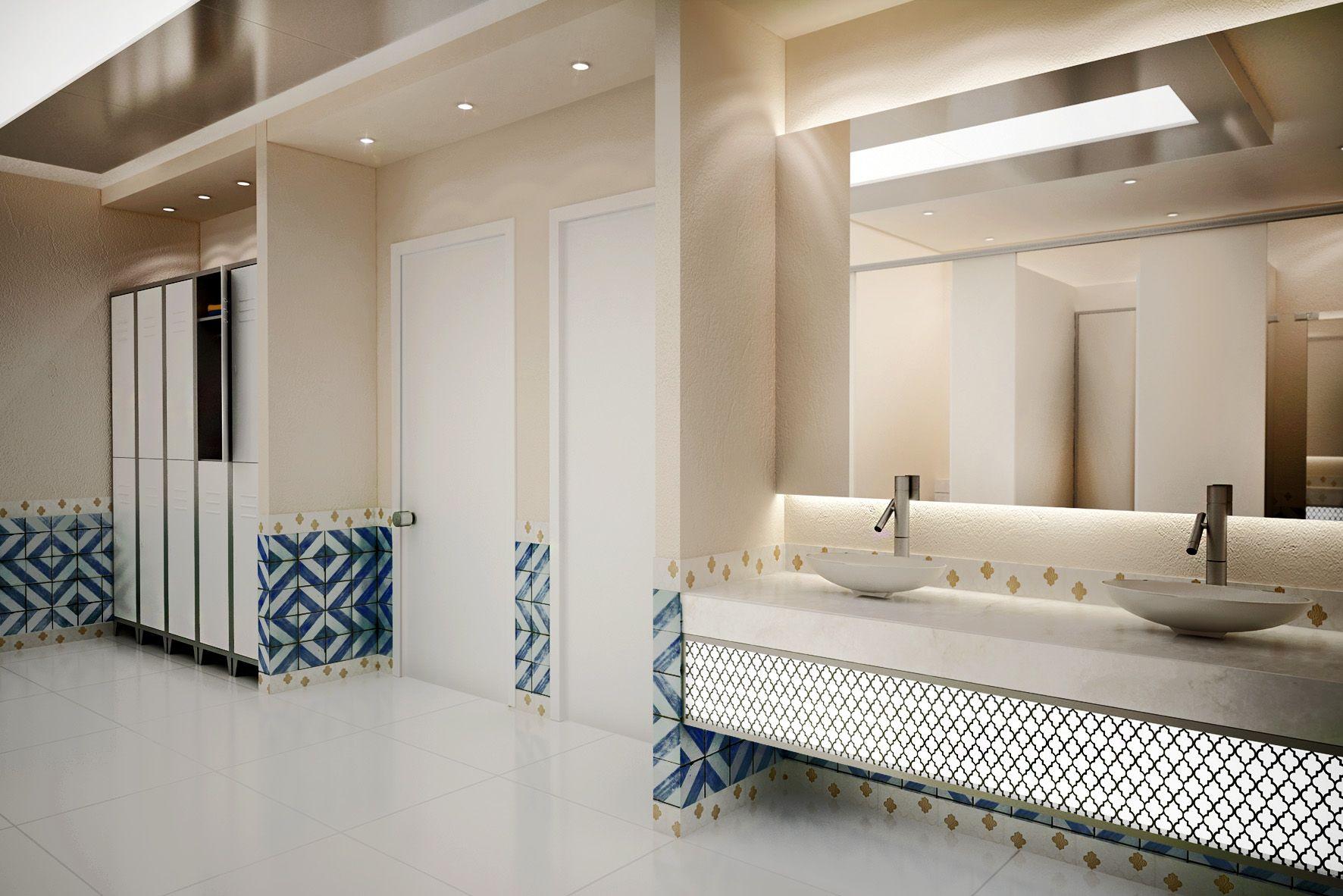 Gym Bathroom Designs Unique Gym Bathroom Moroccan Style Morocco Design Modern Design Inspiration