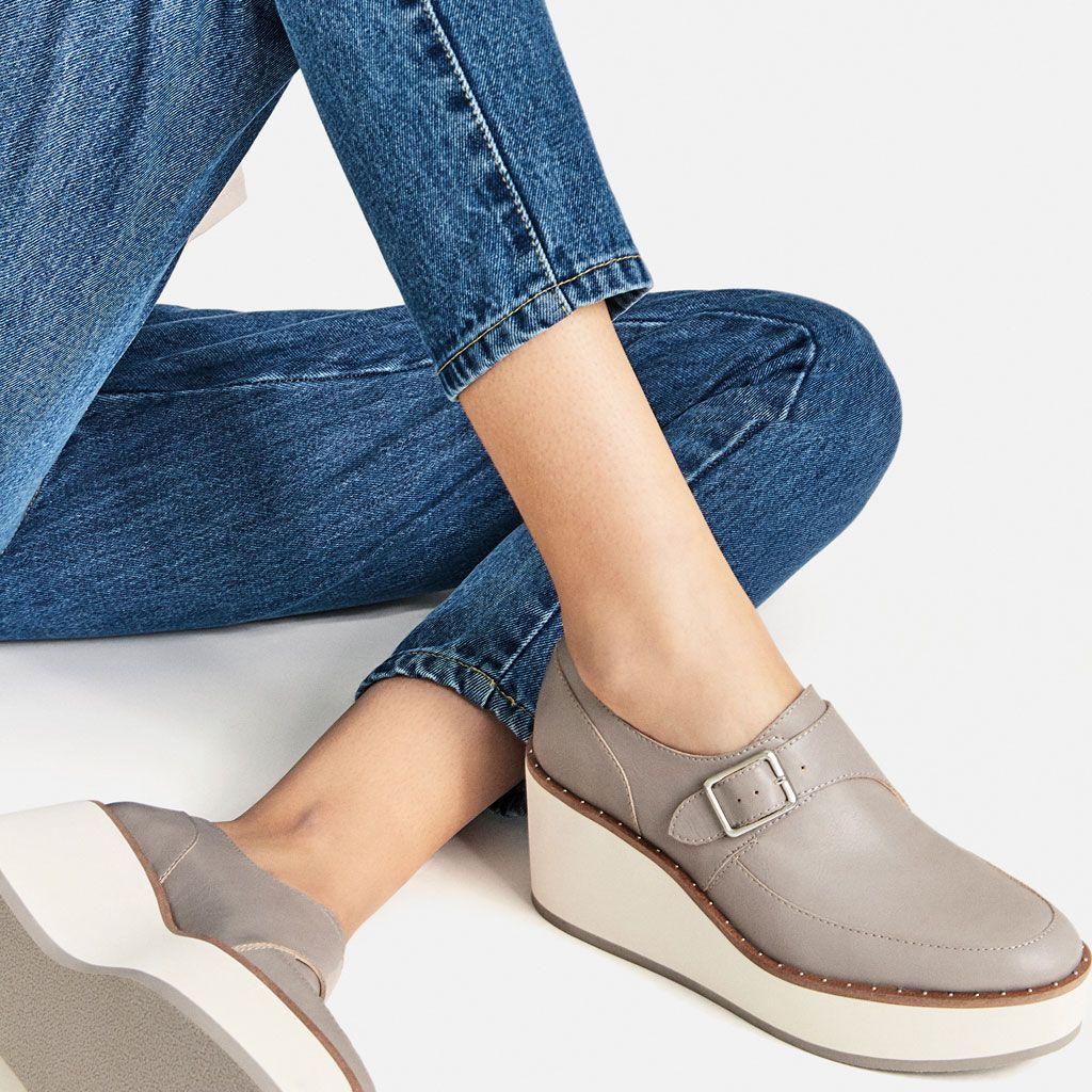 BLUCHER CUÑA-Zapatos planos-ZAPATOS-MUJER | ZARA El Salvador