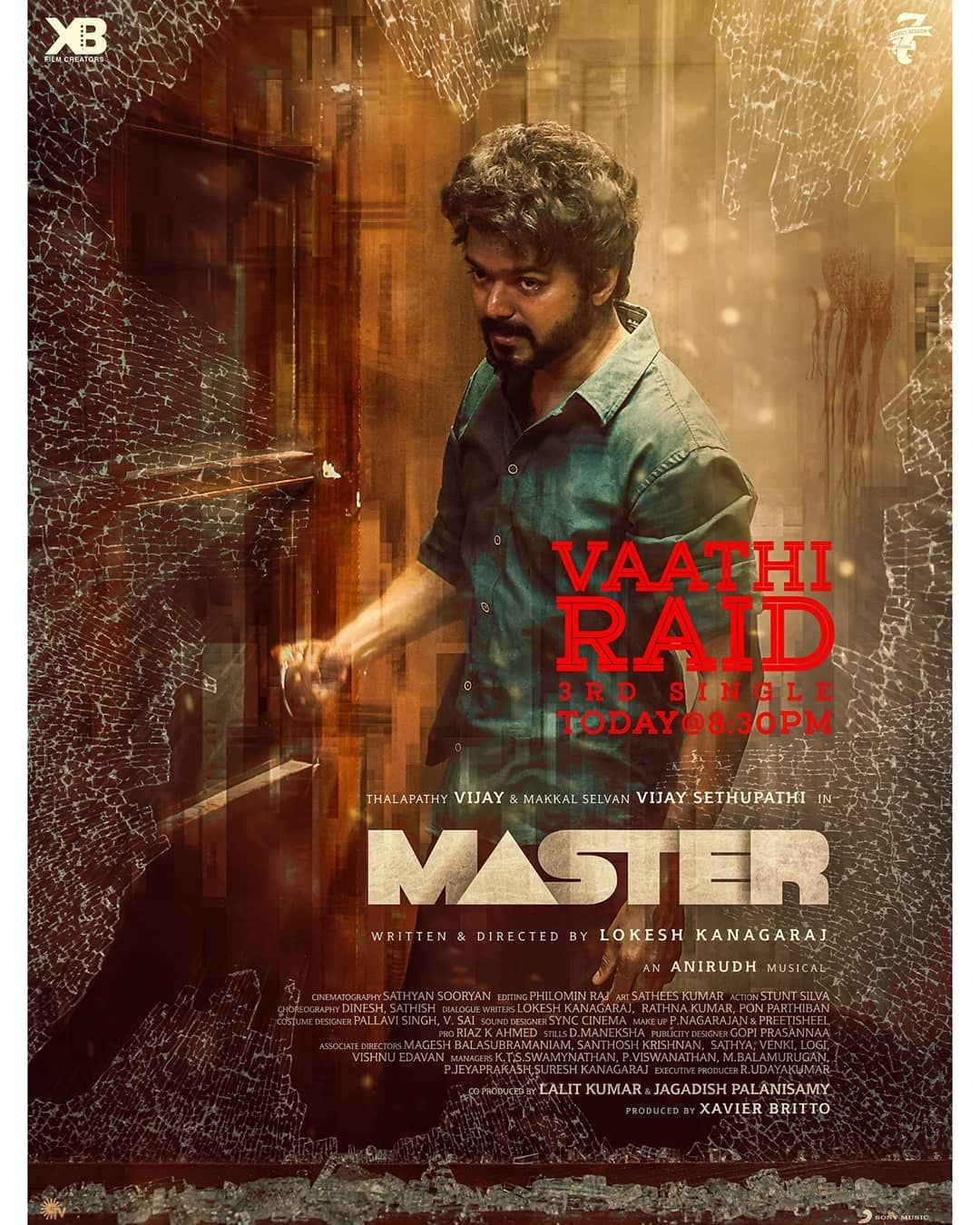 Nanba Set Your Alarms For 8 30 Pm Today The Massive Vaathiraid From Master Coming Your Way Master Hollywood Songs Tamil Songs Lyrics Vijay Actor
