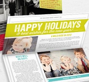 Holiday newsletters keeps everyone up to date with what's going on.  Why not create one that everyone will love.  Pear Tree Greetings can help.  And, RebateGiant will help you save money with a rebate.
