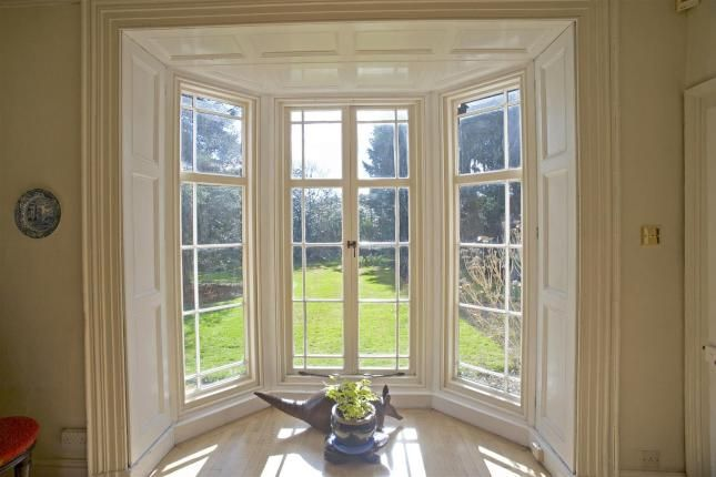 Lovely Regency Bay Window With French Doors And Shutters Fine