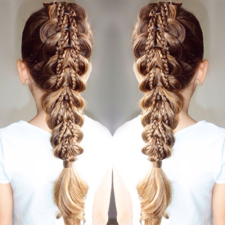 Image Result For Dragon Braid Hair Styles Long Hair Styles Braided Hairstyles