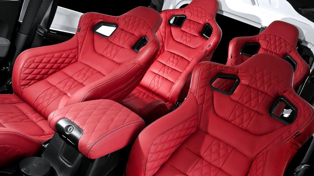 Chelsea Truck Company/Kahn Designs   GTB Sport Seats (On A Jeep Wrangler RHD