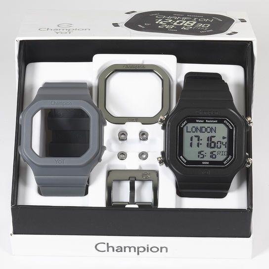 ecc0e66cecd Relógio champion yot pulseiras e acessórios preto amarelo jpg 544x544 Relogio  champion yot