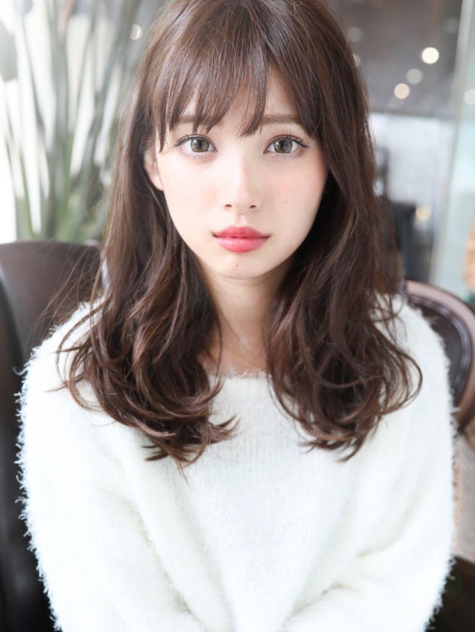 Beautiful Face 15 | 헤어스타일, 미디엄 헤어스타일, 긴 헤어스타일