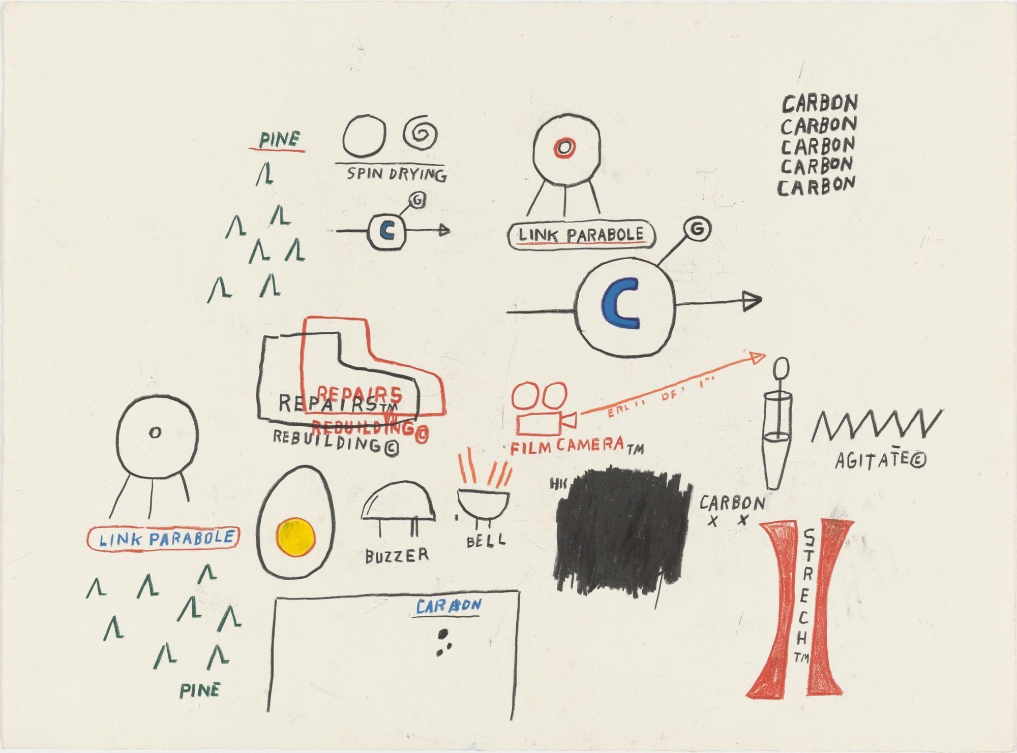 Jean-Michel Basquiat. Untitled. (1985)