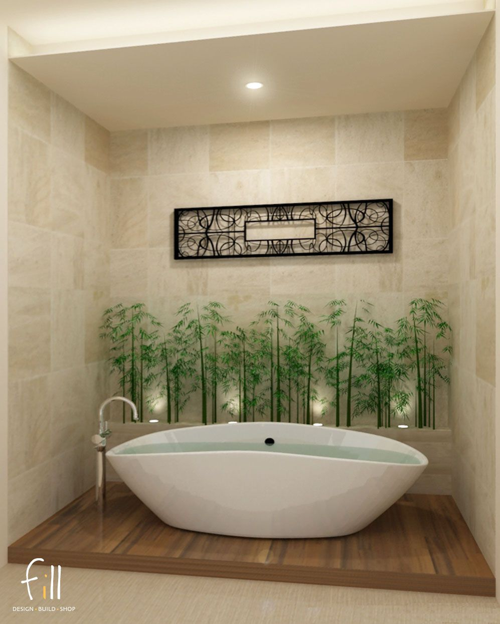 Spa treatment room Tub perfection Just add
